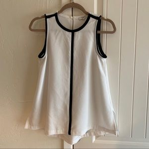 Madewell Trapeze Swing Blouse
